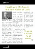 Healthcare IT's Role in the New Model of Care - Adam L. Myers, Texas Health Resources