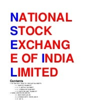National stock exchange of india li...