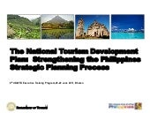 N ational tourism development plan