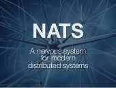 NATS - A new nervous system for distributed cloud platforms