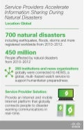 Accelerate Information Sharing During Natural Disasters - Infographic