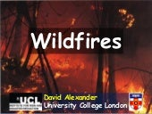 Natural hazards   wildfires
