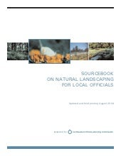 Sourcebook on Natural Landscaping f...