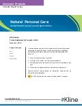 Natural Personal Care 2012 - Brochure