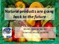 Natural products back to the future
