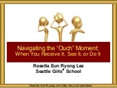 Navigating Ouch Moments