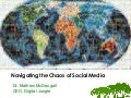 Social Media Event - Navigating the Chaos of Social Media
