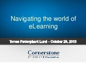 Navigating The World of E-Learning