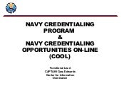 Navy COOL, executive_brief
