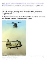 NAVY SEAL HELICOPTER SHOT DOWN (08/...