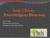 Your Library - Knowledge to Empower