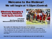 NAYS Coach Management Webinar