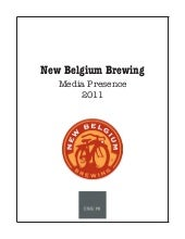 New Belgium Brewing 2011 Clipbook
