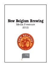 New Belgium Brewing 2012 Clipbook