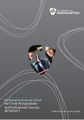 NBS part-time prospectus 2010/2011