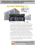 Symantec NetBackup 7.6 benchmark comparison: Data protection in a large-scale virtual environment (Part 2)