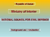 Nccd sudan   ministry of interior -...