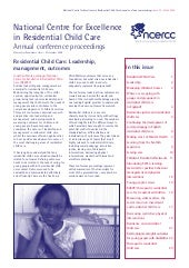 Ncercc Conf Proceedings 2008
