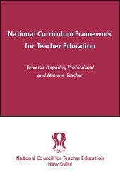 National Curriculum Framework for T...