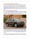 N Charlotte Toyota Offers 2013 Toyota Sequoia