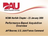 NCMA Performance-Based Acquisition ...
