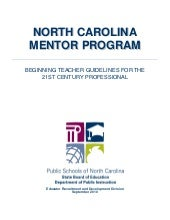Nc mentor btsp manual
