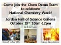 National Chemistry Week at ND - event announcement