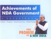 Achievements of NDA Government