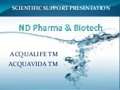 Nd pharma & biotech acqualife tm sc...