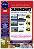 Online Discounts for tours departing from North East
