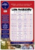 Alfa Travel Late Availability departures from North East - 05/06/10 - 05/07/10