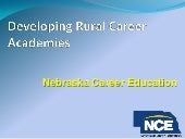Nebraska Developing Rural Career Ac...