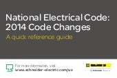 National Electrical Code: 2014 Code...