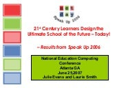 21st-Century Learners Design Ultima...