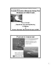 Coastal Protection Measures Along f...