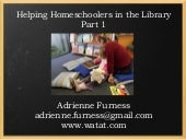 Helping Homeschoolers in the Librar...