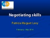 Negotiation skills - Key concepts w...