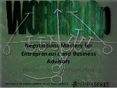 Negotiations Mastery for Entreprene...