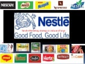 Nestle marketing stratagy