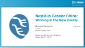 Nestlé in Greater China   winning i...