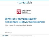 "e-Commerce meets Fashion in the ""Ticino Fashion Valley"" - What's hot in the fashion industry?"