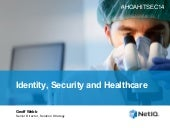 Identity, Security and Healthcare