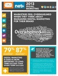 Digital Brand Marketing Survey Results (Infographic)