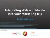 Dave Duarte - Intergrate web & mobi...