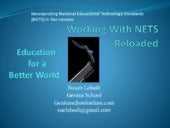 NETS Reloaded: National Education Technology Standards