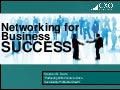 Business Development For Startups -Part 3- Networking for business success   mass challenge - 07242012
