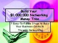 Networking money tree