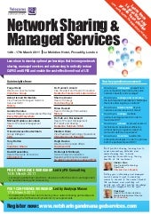 Network Sharing and Managed Services