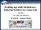 Scaling Up with Switchvox