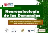 Neurociencias iii  demencias ucv